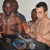 Uganda Kick Boxer Ronald Mugula defeats Andras Nagy in second round