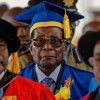 Robert Mugabe in first public appearance since Zimbabwe's military coup