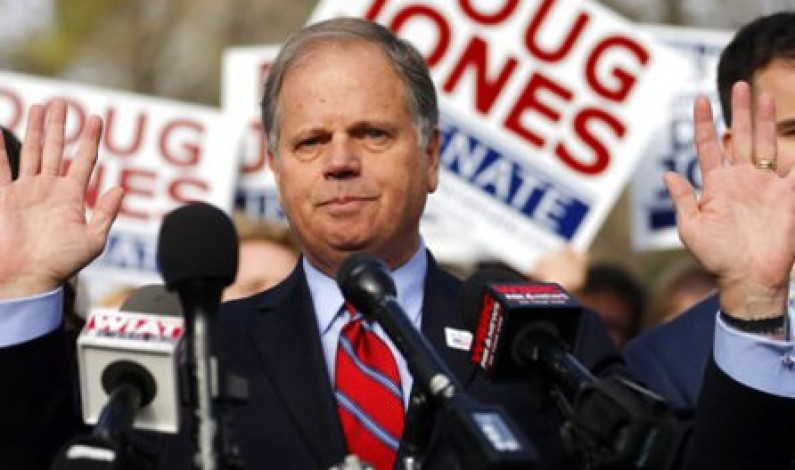 Democrat Jones defeats Roy Moore in Alabama Senate poll