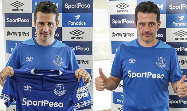 Marco Silva pledges to restore entertainment at Everton after being unveiled as boss