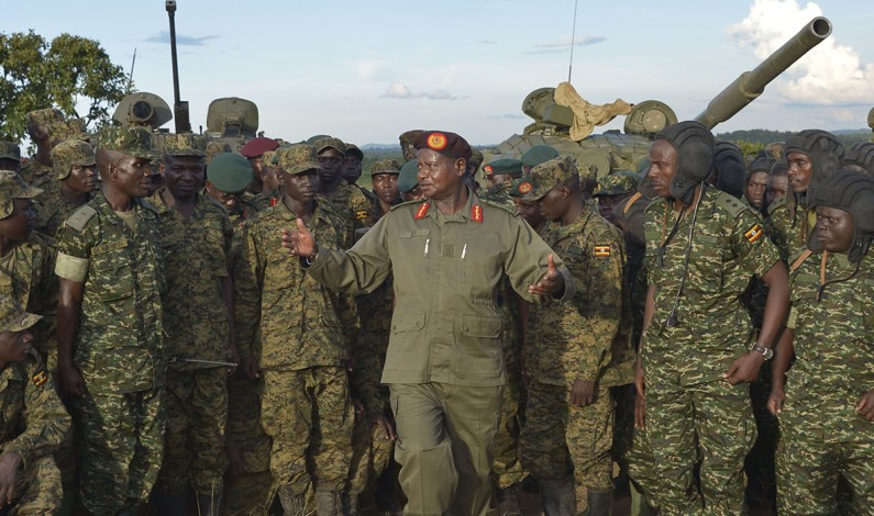 I have decided to protect the Members of Parliament, said Museveni