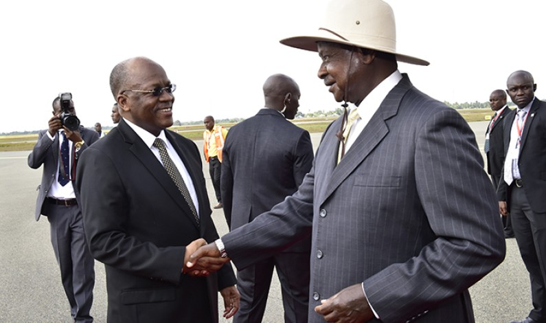 Museveni to hold trade talks with Tanzanian president,John Pombe Magufuli