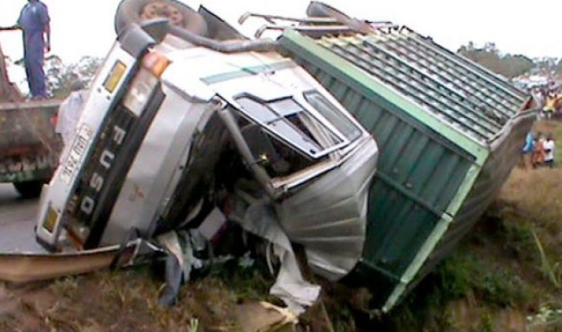 Three reported dead in Rakai as driver loses control over truck