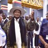 Museveni commissions 22 floor-UGX139 billion URA complex