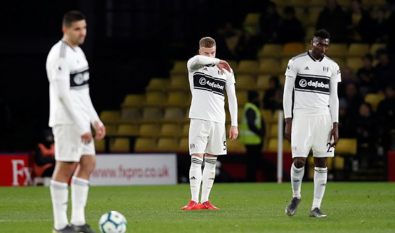 Fulham relegated from Premier League