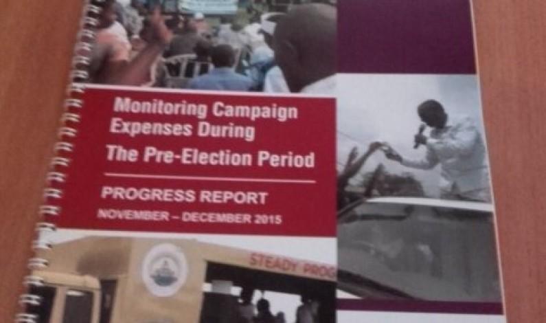 ACFIM releases report on campaign spending