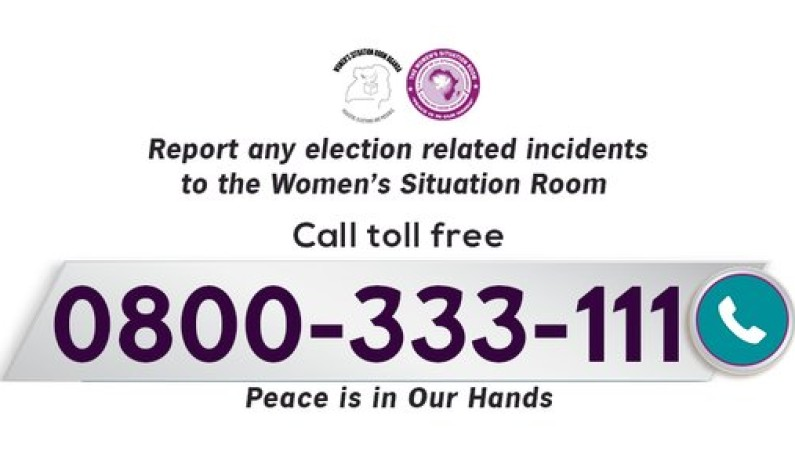 Election observers flagged off as call for peace goes out with toll free number to report abnormalities