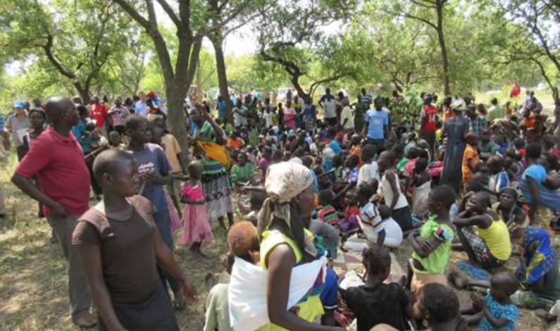West Nile refugees resort to stealing food in the communities as hunger bits.