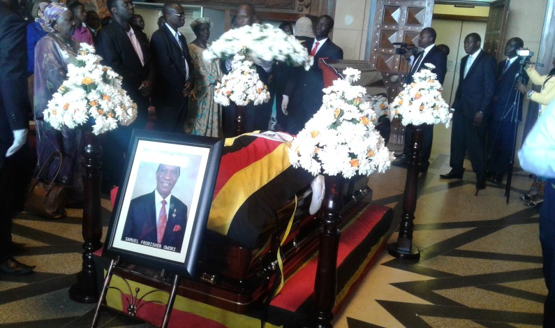 MPs pay tribute to fallen Rotarian late Sam Owori