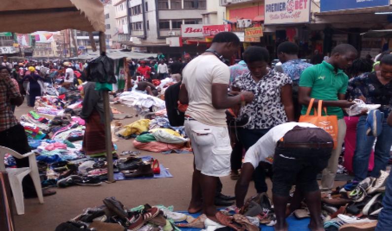 Kampala's Sunday street market days and the corny songs from vendors
