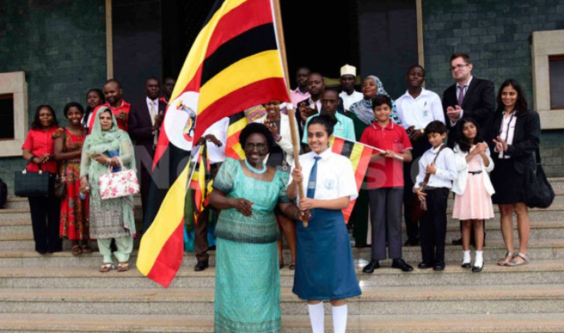 Cecilia Ogwal flags off national debating team for Indonesia championships