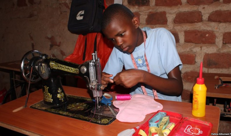 Terego district starts manufacturing sanitary pads