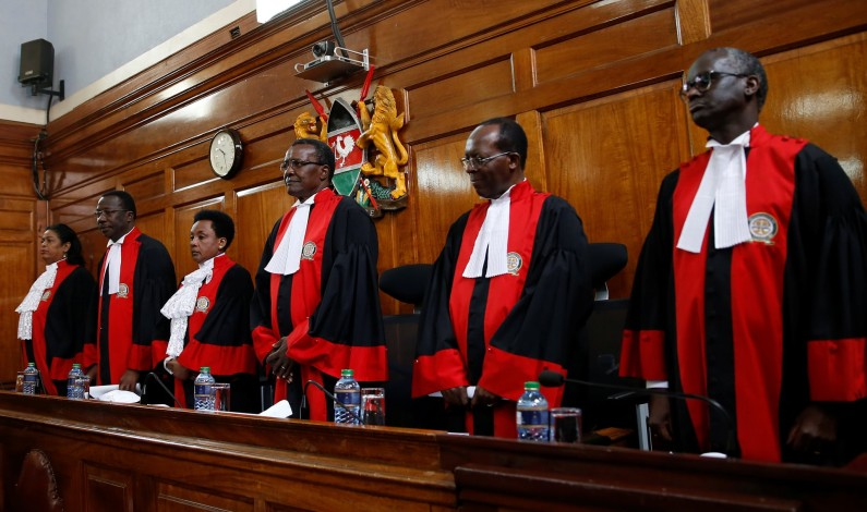 Kenya supreme court uphold president Uhuru Kenyatta's re-election