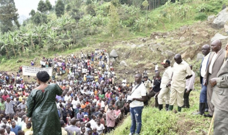 President Museveni Commiserates with landslide victims
