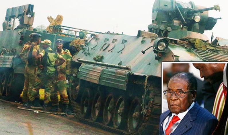 Zimbabwe military puts country on lockdown