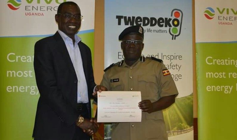 Vivo Energy equips police officers with new skills