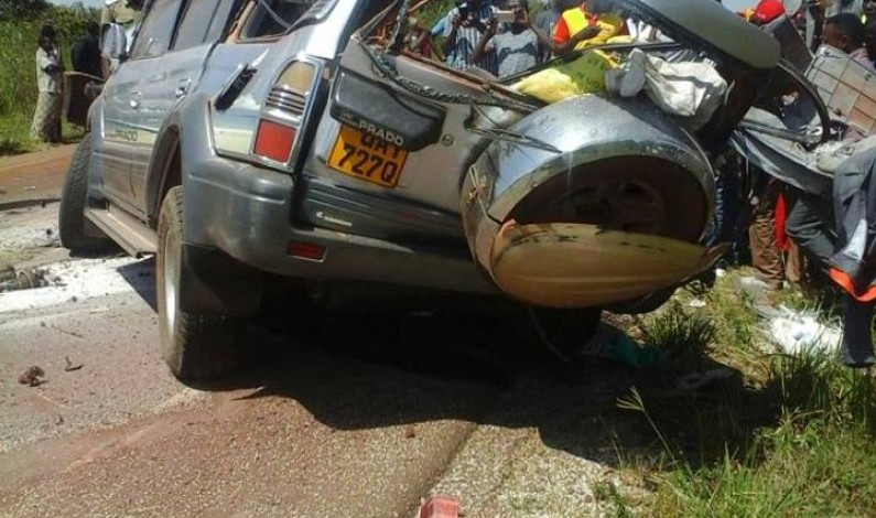 Five people perish in fatal accident