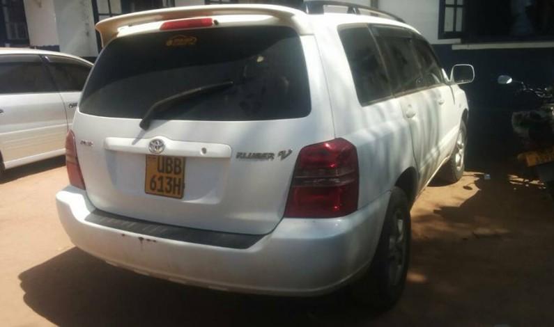 Police intercepts stolen car