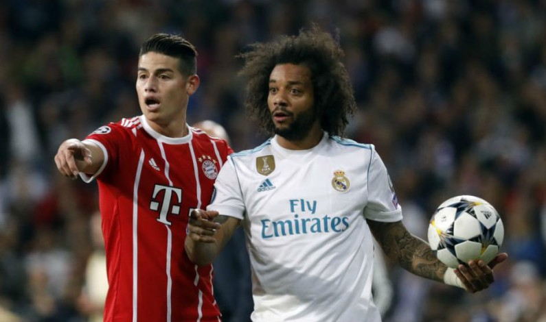 Bayern Munich haven't definitively closed the door on James Rodriguez negotiations