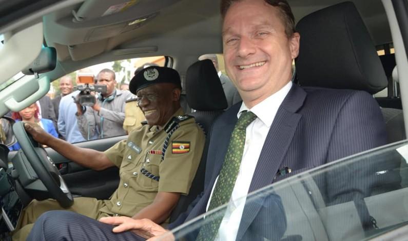 Refugee law project donates vehicles to Uganda Police