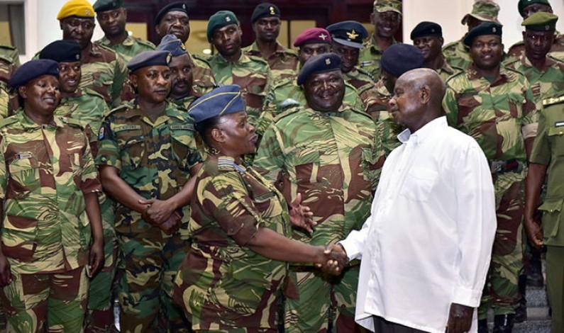 President hosts Zimbabwe Army officers