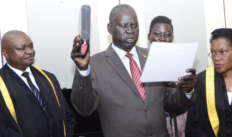 Kassiano Wadri swears in as new Arua municipality MP