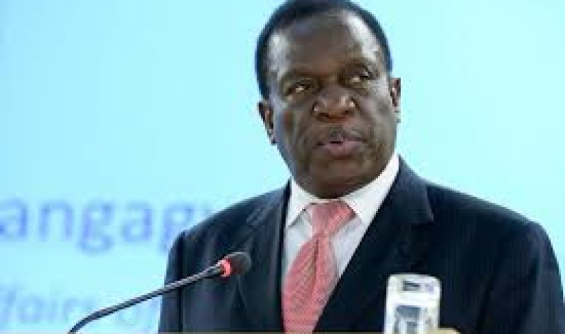 It's now time to put the election period behind us and embrace the future, says Emmerson Mnangagwa