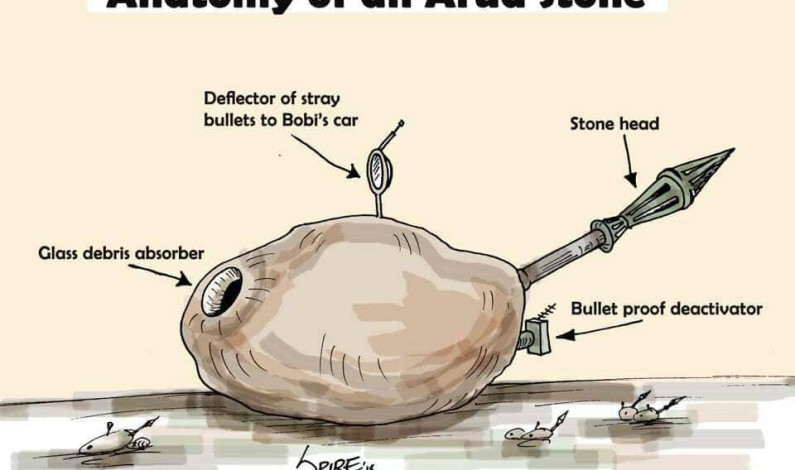 Analyzing the 'MAGICAL' ARUA stone that shattered President Museveni's car