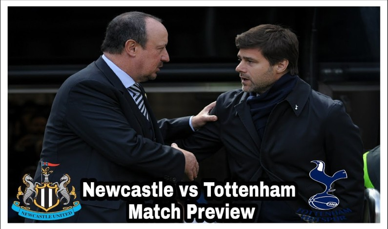 Premier league 2018/2019 season live match Newcastle Vs Tottenham Kick-Off 11:30 GMT