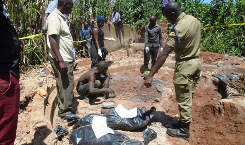 Witch doctor arrested with 5 human bodies