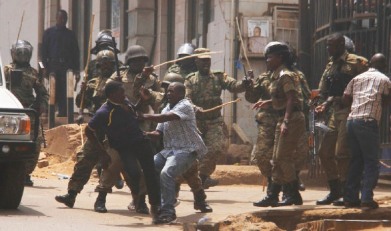 Why fire tear-gas, why fire bullets, Museveni questions Police