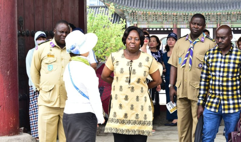 Ugandans in South Korea request government to financially aid trade between the two countries