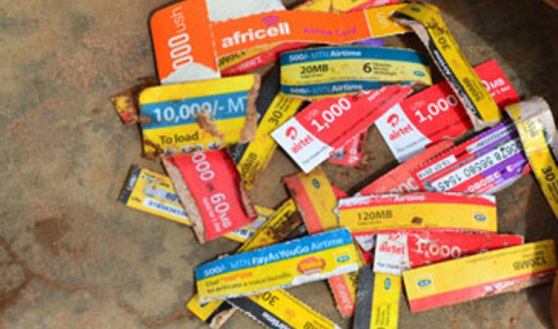 Speaker Kadaga orders for the lifting of the airtime scratch cards ban