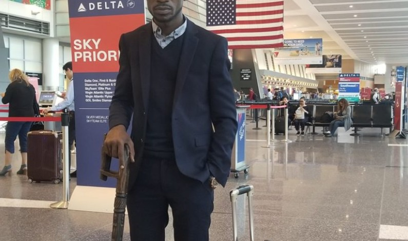 Bobi Wine en-route to Uganda, to arrive on Thursday
