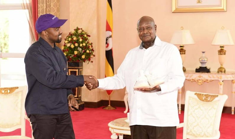 Kanye West, Kim Kardashian hosted by Museveni ahead of Uganda video shoot