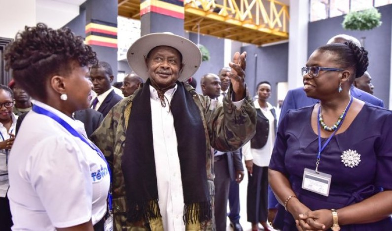 Museveni commissions 22 floor-UGX139 billion URA complex