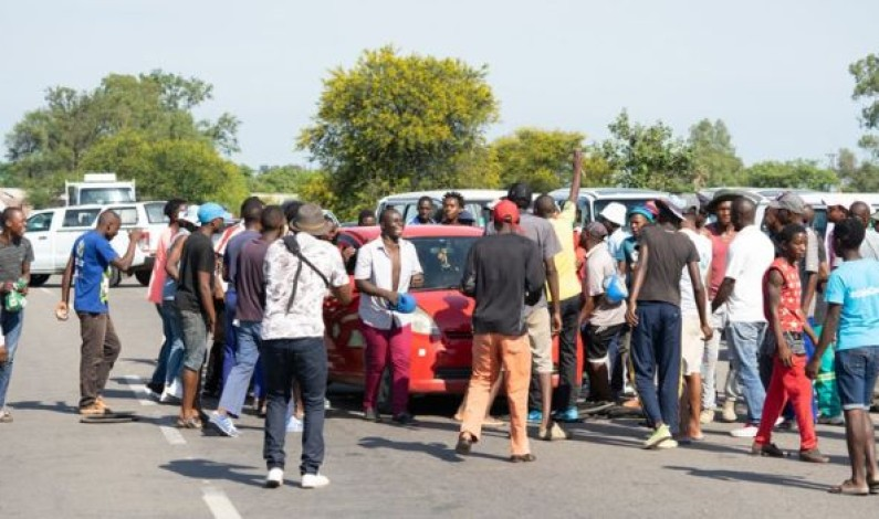 Masses protest in Zimbabwe Cities following the increase in diesel and petrol prices