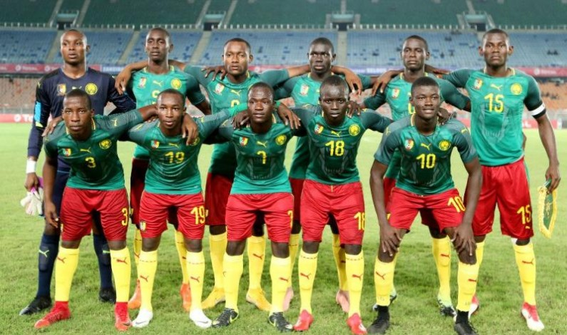 Cameroon U17 Africa Cup of Nations champions