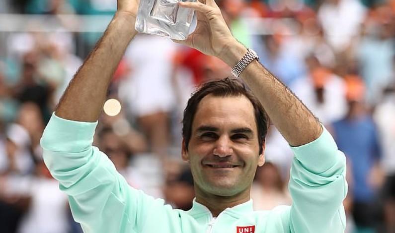 Roger Federer wins Miami Open