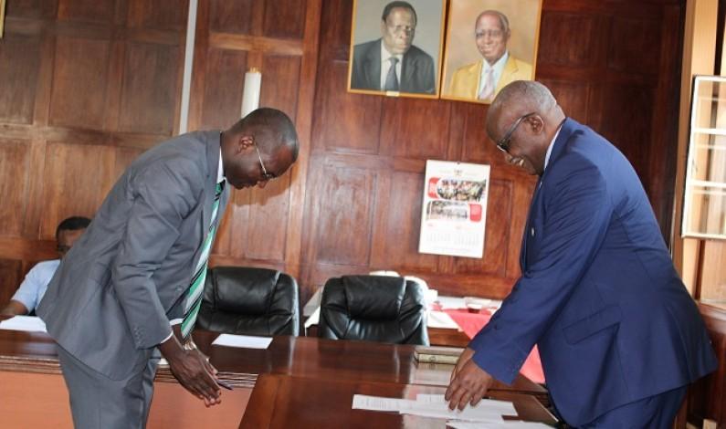 Justice John Patrick Mashongo Tabaro starts role as Chairperson Makerere University Staff Appeals Tribunal.