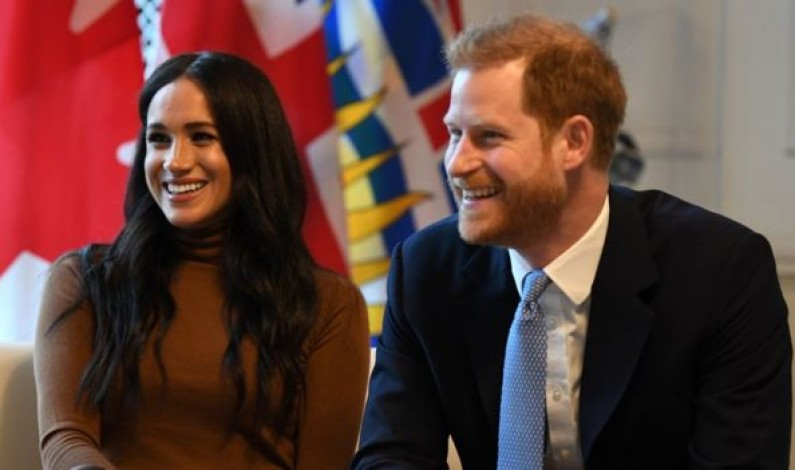 Prince Harry and Meghan step back as senior royals kicking off a storm