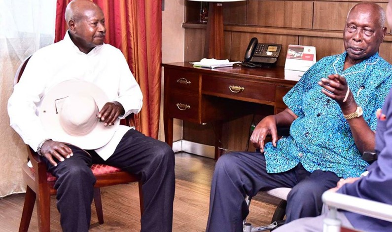 Museveni eulogises Moi as African Icon