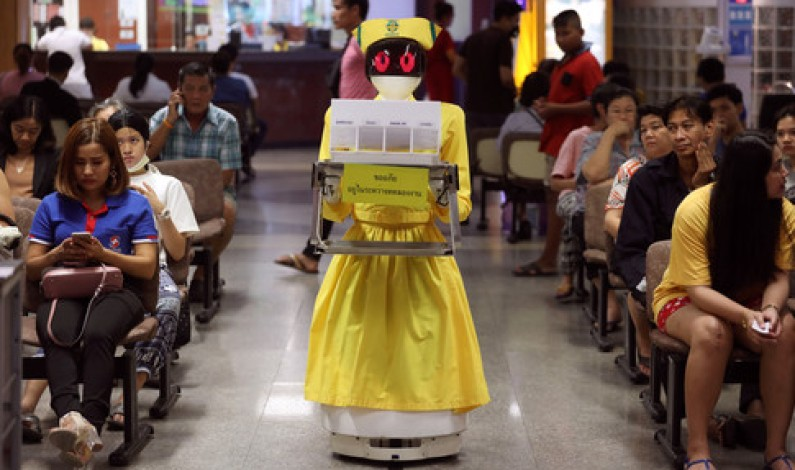 Chinese medical community adopts robots as medical assistants,Coronavirus