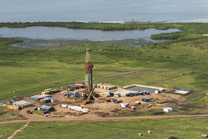 Oil drilling at Kingfisher in Hoima Uganda