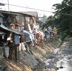 A typical Ugandan slum