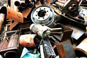 metal scrap materials