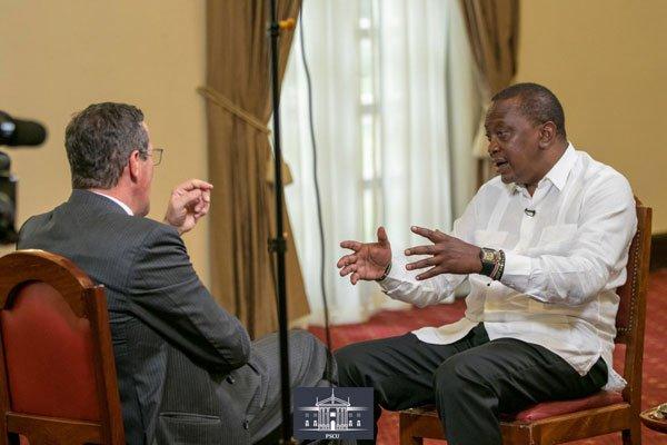 CNN's Richard Quest interviews President Uhuru Kenyatta