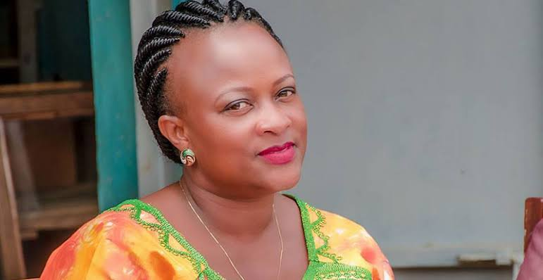 Kabarole district Woman MP, Sylvia Rwabogo courtesy photo